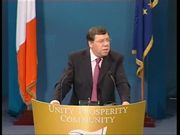 Click here to view the Minister for Finance and Deputy Leader of Fianna Fáil, Brian Cowen TD's speech