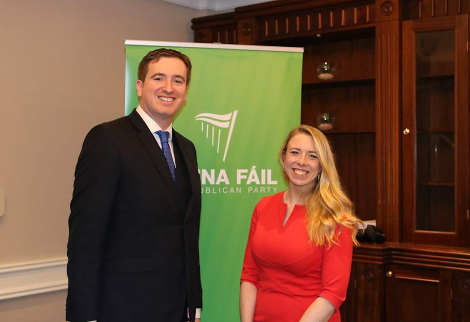 Dr. Michael Clark & Helena Kelly selected to run in the Killiney-Shankill LEA for Fianna Fáil.