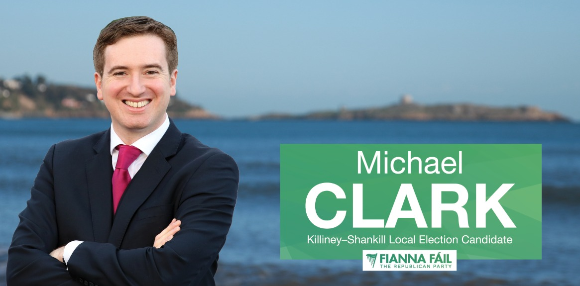 Michael Clark - Fianna Fáil's New Councillor for the Killiney - Shankill LEA